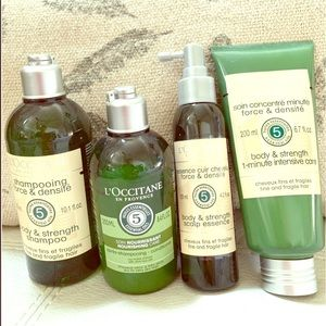 Lot of 4 L'Occitane Hair Products